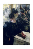 Omnibus I, 1895 Giclee Print by Anders Leonard Zorn