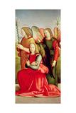 Three Angels Giclée-tryk af Ridolfo Ghirlandaio