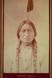 Sitting Bull, Sioux Chief, C.1885 Photographic Print by David Frances Barry