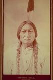 Sitting Bull, Sioux Chief, C.1885 Lámina fotográfica por David Frances Barry