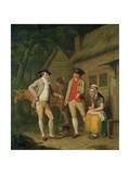 Widow Costard's Cow and Goods, Distrained for Taxes, are Redeemed by the Generosity of Johnny… Giclee Print by Edward Penny