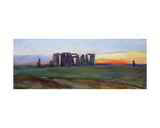 Stonehenge, 1872 Giclee Print by John William Inchbold