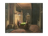 Christ in the House of Nicodemis Giclee Print by Hendrik van Steenwyck