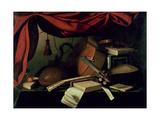 Musical Still Life Giclee Print by Bartolommeo Bettera