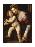 Madonna and Child, C.1530-40 Giclee Print by Giulio Romano