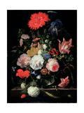 Flower Piece Giclee Print by Abraham Mignon