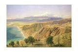 Sicily: Taormina Giclee Print by John Brett