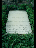 The Grave of Percy Bysshe Shelley (1792-1822) Photographic Print