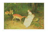 The Forest Pet, 1871 Giclee Print by Sir William Quiller Orchardson
