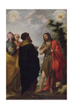 St. John the Baptist with the Scribes and Pharisees, C.1655 Giclee Print by Bartolome Esteban Murillo