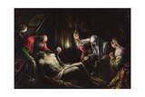 The Deposition Giclee Print by Jacopo Bassano