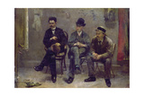 Inspecting Art, 1888 Giclee Print by Floris Arntzenius