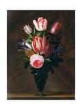 Flowers in a Vase Giclee Print by Johannes Antonius van der Baren