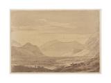 Near Chiavenna Giclee Print by John Robert Cozens