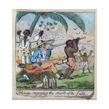 Johnny Enjoying the Sports of the Field, from 'The Adventures of Johnny Newcome', Pub. by William… Giclee Print by William Elmes