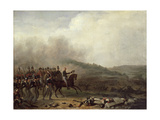 Willem Frederik (1772-1843) Prince of Orange at the Battle of Quatre Bras, 16th June 1815 Giclee Print by Mathieu Ignace van Bree
