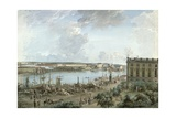 View of Stockholm from the Royal Palace Giclee Print by Elias Martin