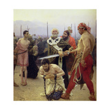 St. Nicholas Delivers Three Unjustly Condemned Men from Death, 1888 Giclee Print by Ilya Efimovich Repin