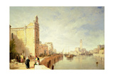 A View of Murano Giclee Print by Sir Augustus Wall Callcott