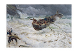How the Boat Came Home, 1886 Giclee Print by Charles Napier Hemy