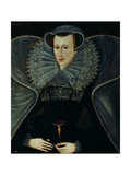 Portrait of Mary Queen of Scots (1542-87) Giclee Print