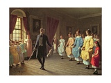 The Dancing Lesson Giclee Print by Hugh Collins