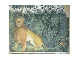 The Fountain of Life, Detail of a Lion, 1418-30 Giclee Print by Giacomo Jaquerio