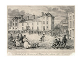 Chartists Attack on the Westgate Hotel, Newport, November 4th 1840, 1893 Giclee Print by James Flewitt Mullock