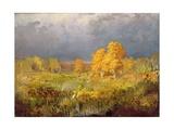 Forest Swamp in Autumn, C.1872 Giclée-Druck von Fedor Aleksandrovich Vasiliev