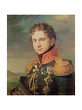 Portrait of Pavel A. Stroganov, before 1825 Giclee Print by George Dawe