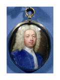 Miniature of Joseph Addison (1672-1719) Giclee Print by Christian Friedrich Zincke