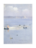 A View of Mount's Bay with the North Pier, C.1892 Giclee Print by Norman Garstin
