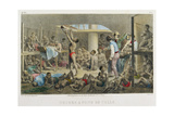 Slaves in the Hold, Engraved by Deroi, Published by Engelmann and Cie, 1827-35 Giclee Print by Johann Moritz Rugendas