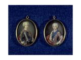 Prince Henry Benedict Stuart (1725-1807) and Prince Charles Edward Stuart (1720-88), C.1734 Giclee Print by Antonio David