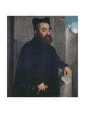 Canon Ludovico Di Terzi, C.1560-65 Giclee Print by Giovanni Battista Moroni