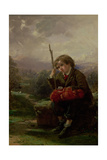A Rest by the Way Giclee Print by Thomas Faed