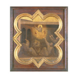 The Apparition of St. Francis in the Chariot of Fire Giclee Print by Taddeo Gaddi