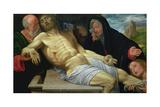 The Lamentation of Christ, 1510/20 Giclée-tryk af Giovanni Girolamo Savoldo