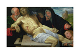 The Lamentation of Christ, 1510/20 Giclee Print by Giovanni Girolamo Savoldo