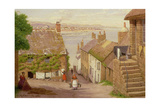 View of Penzance from Newlyn, 1881 Giclee Print by John Mulcaster Carrick