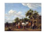 A Farrier's Shop Giclee Print by Barend Gael Or Gaal
