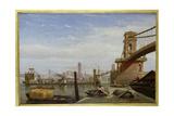 Hungerford Pier, C.1850 Giclee Print
