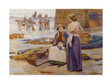 Harvesters of the Sea Giclee Print by Ralph Todd