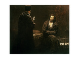 Refusal of Confession, 1879-85 Giclee Print by Ilya Efimovich Repin
