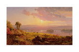 Susquehanna River, 1876 Giclee Print by Jasper Francis Cropsey