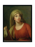 Portrait of Emma Hart (C.1765-1815) Later Lady Hamilton, as a Sibyl, C.1792 Giclee Print by Elisabeth Louise Vigee-LeBrun