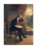 Portrait of John Keats (After Joseph Severn) Giclee Print by William Hilton