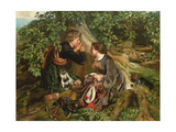 Scottish Lovers,1863 Giclee Print by Daniel Maclise