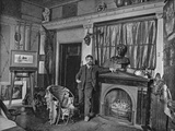 Sir Lawrence Alma-Tadema, Portrait Photograph from the 'Artists at Home' Series, 1884 Photographic Print by John Jabez Edwin Paisley Mayall