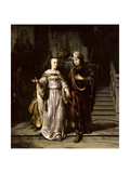 Anthony and Cleopatra, 1669 Giclee Print by Gerbrandt Van Den Eeckhout